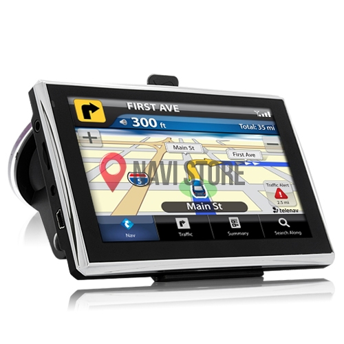 "GPS navigace - 5.0"" GPS navigace ANDROID DS500-WAT - Lifetime"