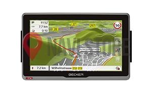 GPS navigace - Becker active.5s EU - vystavený kus