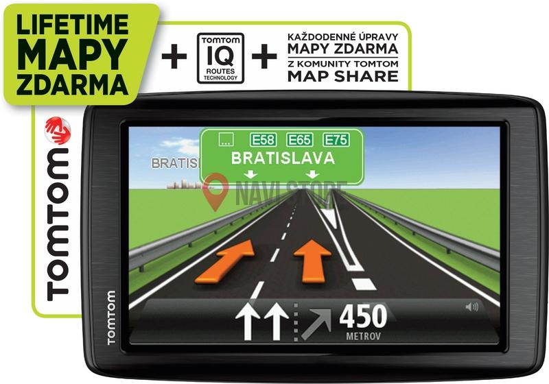 GPS navigace - TomTom Start 25 Regional LTM