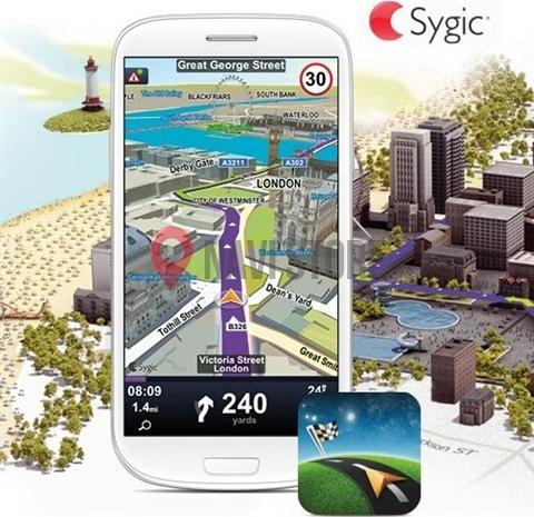 Navi softwary - Sygic Navigation lifetime + HUD + Dash EU