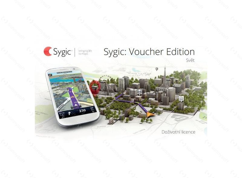 Navigační softwary - Sygic GPS Navigation - Svět, offline, doživotní aktualizace map