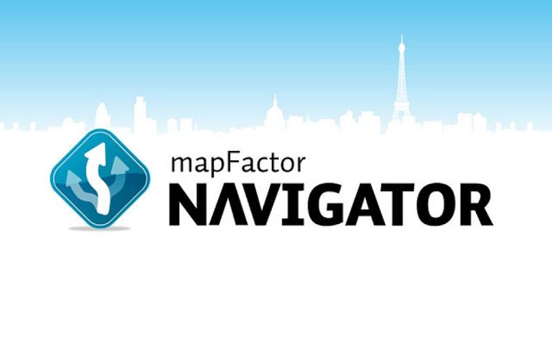 Navigační softwary - MapFactor Navigator 16 - Evropa