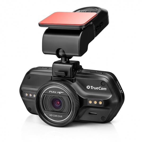 "DVR kamery - 2,7"" DVR TrueCam A7s Full HD+, detektor radaru, GPS lokátor, LED přisvícení"