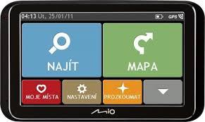 GPS navigace - Mio Spirit 6970u Truck Lifetime