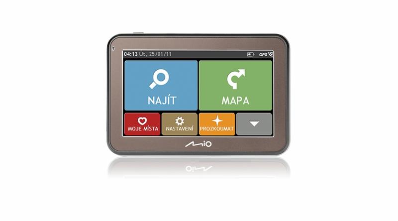 Opravy a aktualizace - LCD display + dotyková vrstva Mio 320, 520