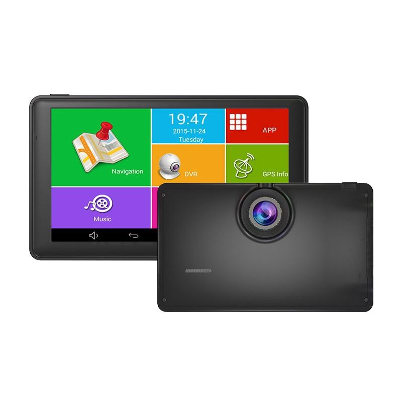 """GPS navigace - 7.0"""" GPS navigace DS705 android s DVR kamerou, WIFI i Bluetooth - TRUCK, TIR i OA"""