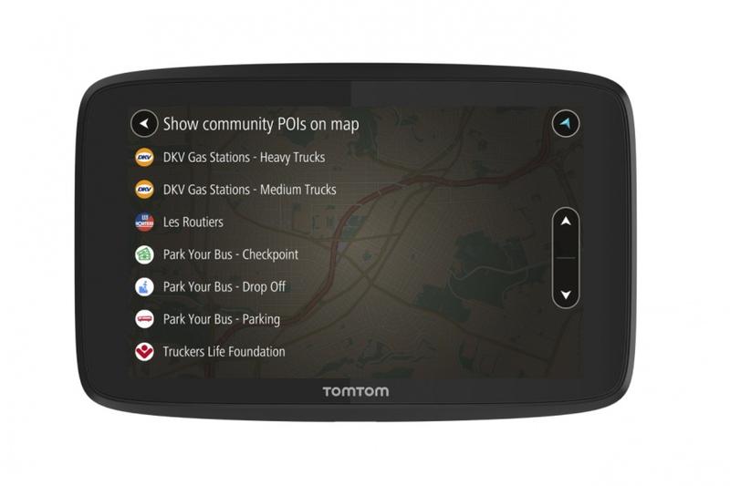 GPS navigace - TomTom GO Professional 520