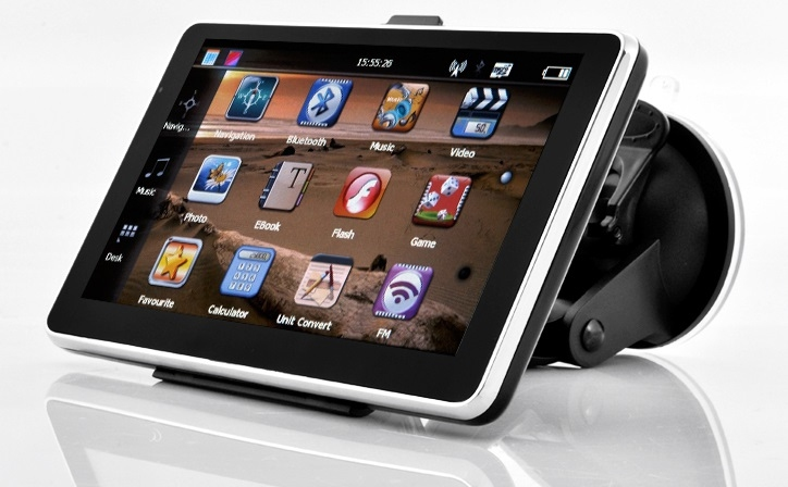 "GPS navigace - 6.0"" GPS navigace s bluetooth DS600-TB + Lifetime - TRUCK, TIR i OA"