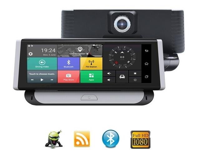 """GPS navigace - 8"""" GPS navigace na palubní desku s WIFI, DVR kamerou, ds898 - TRUCK, TIR i OA"""