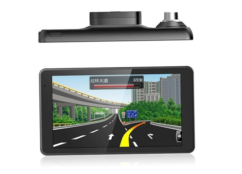 """GPS navigace - 5,5"""" GPS navigace OWIRO s IPS displejem, DVR kamerou a magnetickým držákem - TRUCK, BUS i OA"""