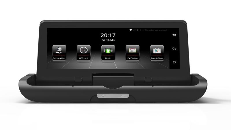 """GPS navigace - 8"""" GPS navigace s elektronickým sklápěním, DVR kamerou, bluetooth a wifi DS899"""