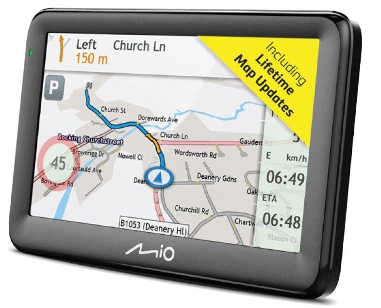 "GPS navigace - MIO Pilot 15 LM navigace, LCD 5"", mapy EU, Lifetime"