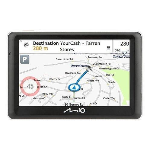 "GPS navigace - MIO Spirit 7700 GPS navigace, LCD 5"", mapy EU, Lifetime"