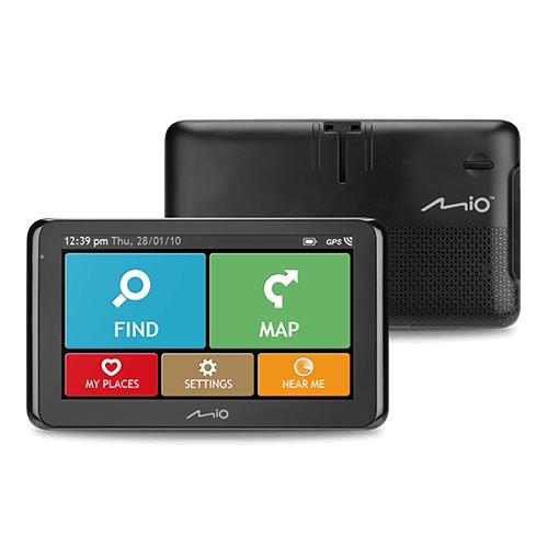 "GPS navigace - MIO Spirit 8670 GPS TRUCK / KARAVAN navigace, LCD 6,2"", TMC, BT, mapy EU (44) Lifetime"