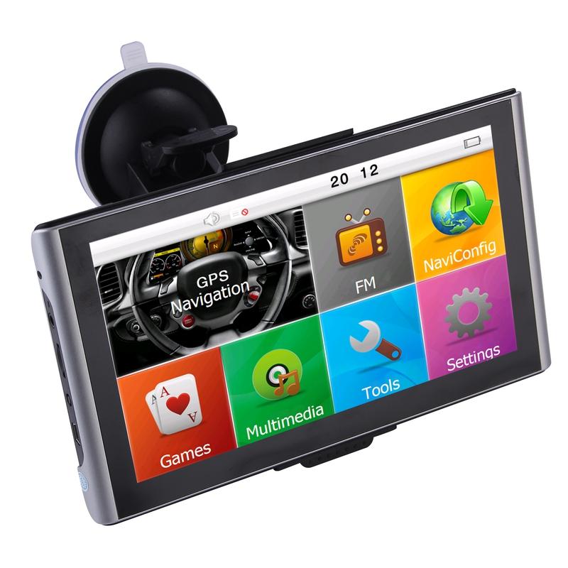 "GPS navigace - 7.0"" GPS navigace s bluetooth DS702-TB ULTRA slim pro TRUCK, TIR i OA"