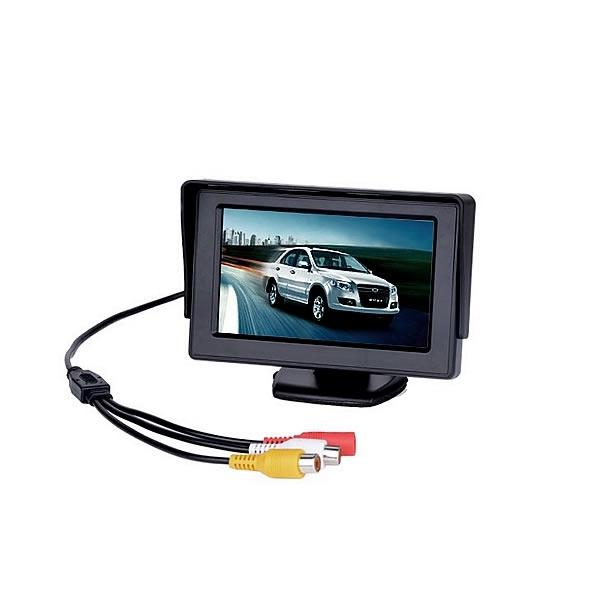 "Kamery, monitory - 4.3"" LCD Monitor na palubní desku"