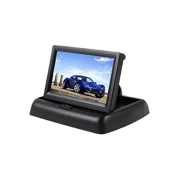 """Kamery, monitory - 4.5"""" LCD Monitor na palubní desku na zaklapnutí"""