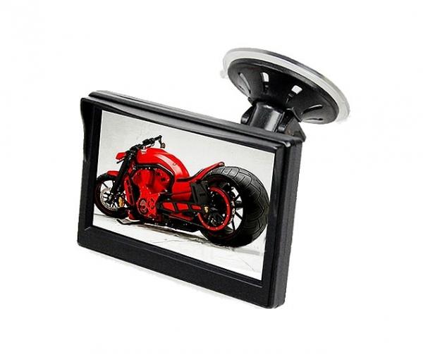 """Kamery, monitory - 5.0"""" LCD Monitor s přísavkou na sklo"""