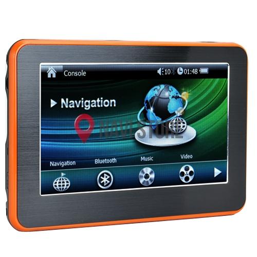 """GPS navigace - 4.3"""" multimedialní GPS navigace s bluetooth DS432-TB  - lifetime"""