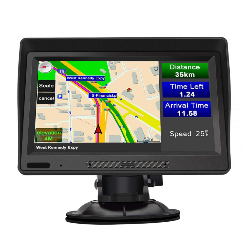 GPS navigace - 9.0 LCD ANDROID GPS navigace se sluneční clonou pro TRUCK, TIR, BUS i OA