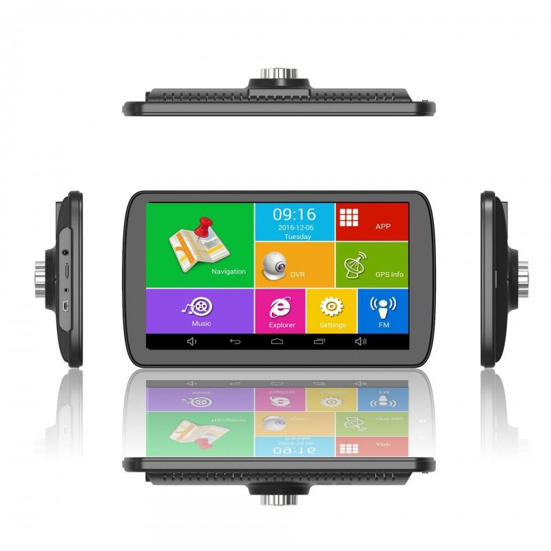 GPS navigace - 9.0 LCD ANDROID GPS navigace ns905 s DVR kamerou pro TRUCK, TIR, BUS i OA