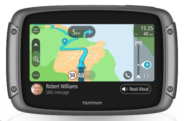 GPS navigace - TomTom Rider 500 Europe Lifetime