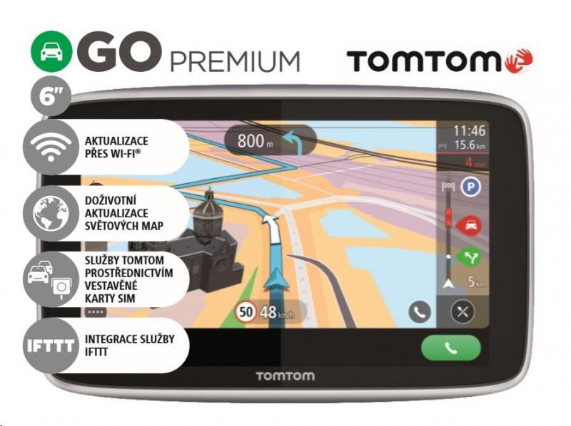 GPS navigace - TomTom GO PREMIUM 6 World Lifetime