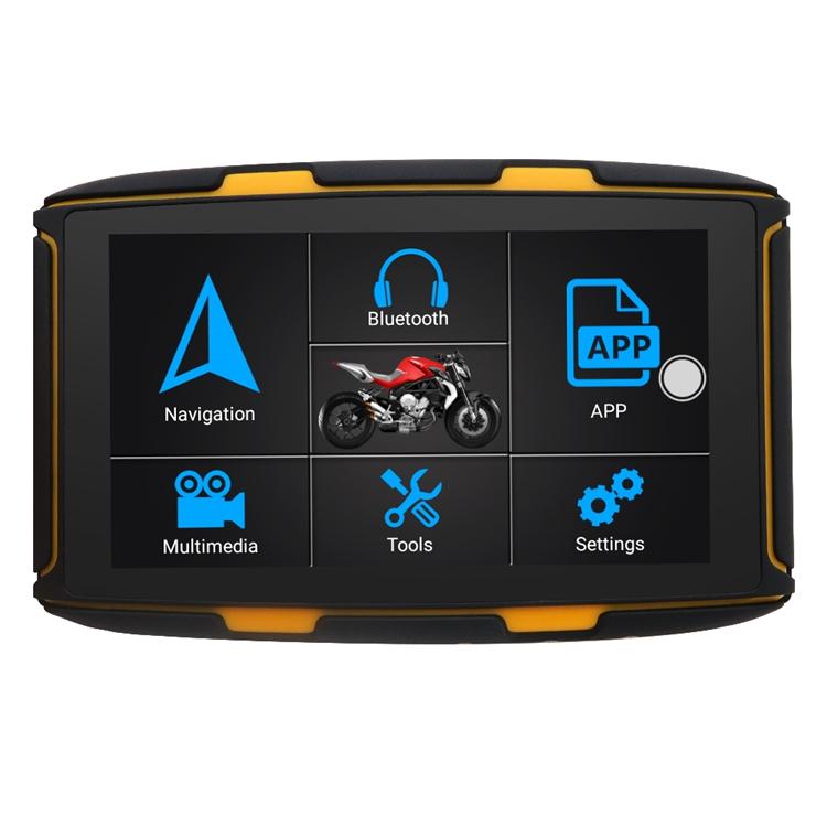 GPS navigace - 5.0 moto navigace ANDROID - bluetooth, wifi, lifetime