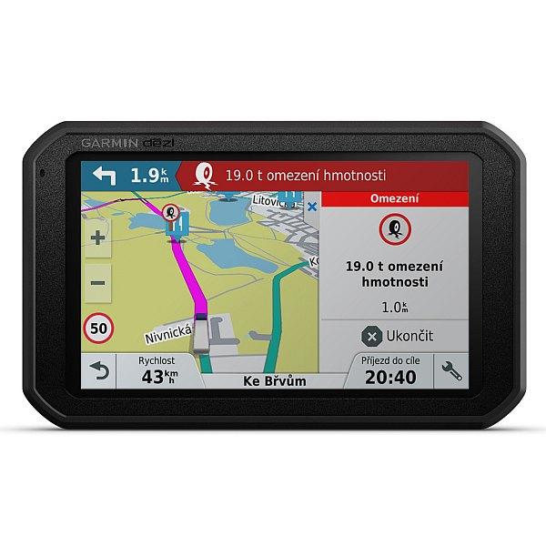 GPS navigace - Garmin dezl Cam 785T-D Lifetime Europe 45