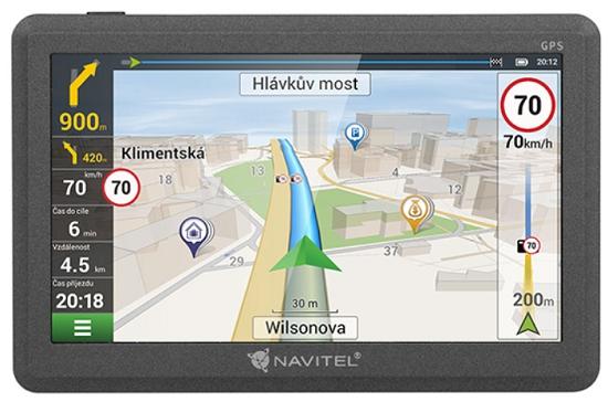 GPS navigace - Navitel E200 TMC