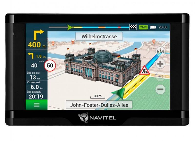 GPS navigace - Navitel E500 TMC Magnetic