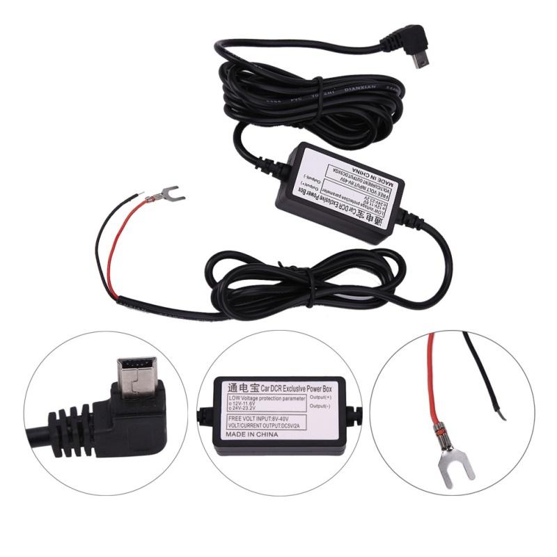 GPS příslušenství - ACC napájecí sada kabelů pro přímé napájení navigace nebo DVR kamery