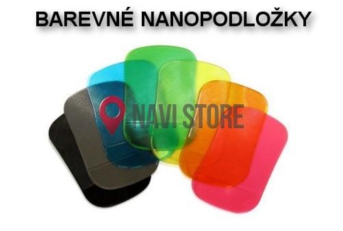 GPS příslušenství - Protiskluzová NANO podložka - různé barvy