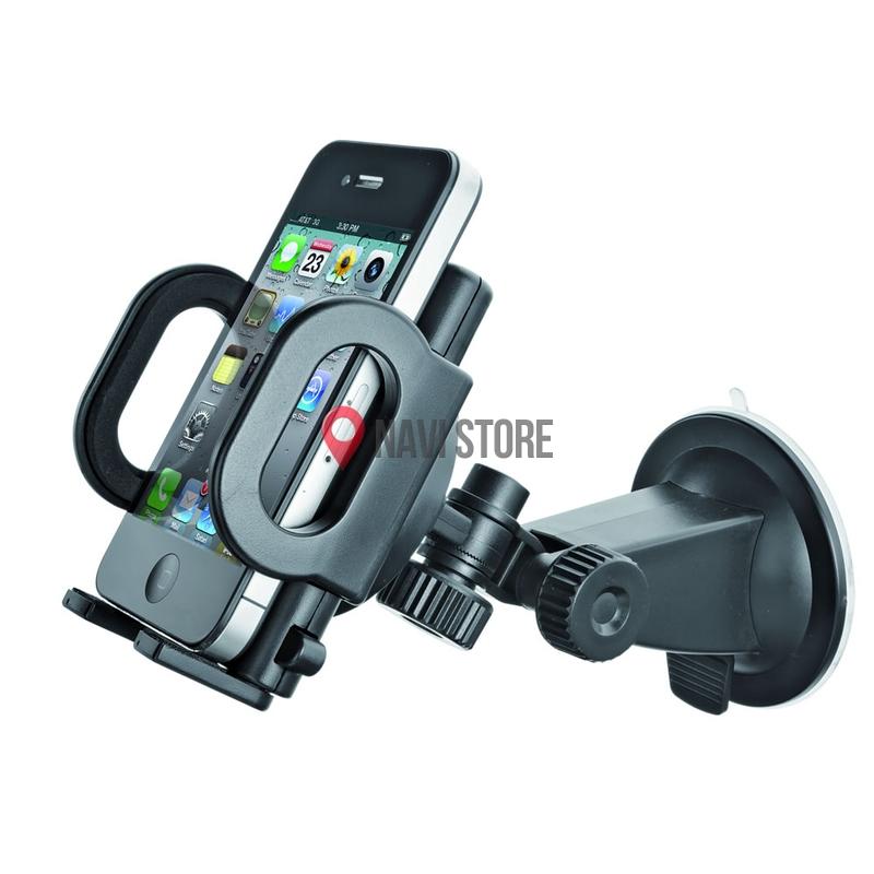 GPS příslušenství - Univerzální držák do auta na mobil, MP4, PDA, GPS