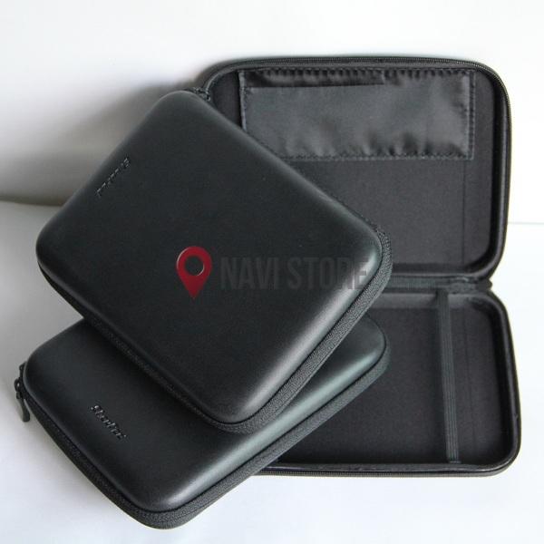 GPS příslušenství - Černé kožené pouzdro pro GPS navigaci - různé velikosti