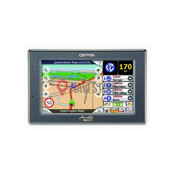 Opravy a aktualizace - LCD display + dotyková vrstva Mio C520T, C320T