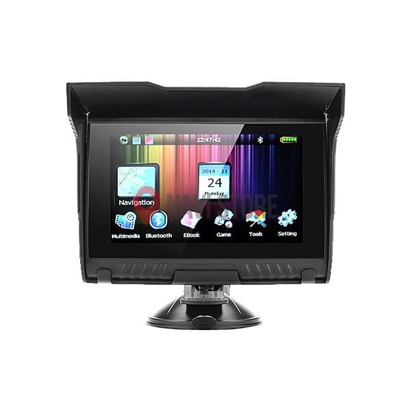 """GPS navigace - 5"""" voděodolná MOTO GPS navigace s bluetooth - lifetime, moto5"""