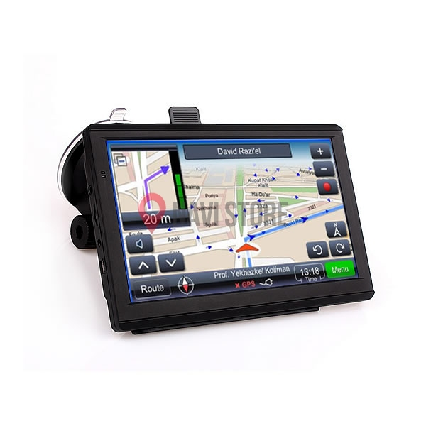 "GPS navigace - 7.0"" ANDROID gps navigace s wifi - lifetime - TRUCK, TIR i OA, DS701-WAT"