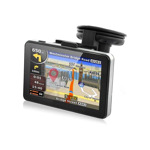 "GPS navigace - 5.0"" GPS navigace s bluetooth DS502-TB lifetime, TRUCK, TIR i OA"