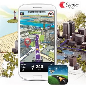 Sygic Navigation lifetime + HUD + Dash EU