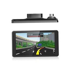 "5,5"" GPS navigace OWIRO s IPS displejem, DVR kamerou a magnetickým držákem - TRUCK, BUS i OA"
