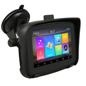 """5"""" voděodolná MOTO GPS navigace android, bluetooth, wifi - lifetime"""