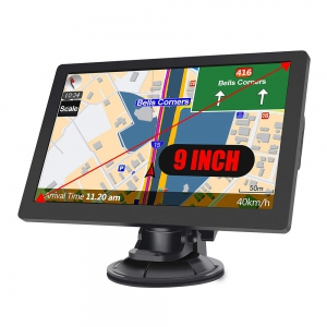 9.0 LCD GPS navigace pro TRUCK, TIR, BUS i OA