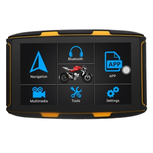 5.0 moto navigace ANDROID - bluetooth, wifi, lifetime