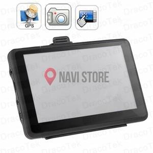 "5.0"" GPS navigace s DVR kamerou a bluetooth + LIFETIME - TRUCK, TIR i OA, DS500-TC"