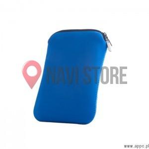 """Neoprenové pouzdro se zipem na 7"""" GPS navigaci, tablet  - modré"""
